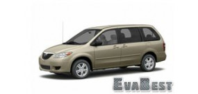 Mazda MPV II (LW) рестайлинг правый руль (2003-2006)